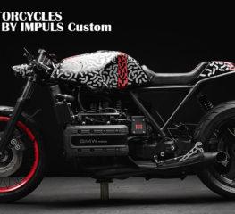 CUSTOM MOTORCYCLES | BMW K1100 BY IMPULS Custom ภูมิใจนำเสนอรูปแบบการพรางตา ต้นแบบจาก Ford