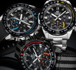 คาสิโอ เปิดตัวนาฬิกาซีรี่ย์ใหม่ EDIFICE COUNTDOWN BEZEL EFS-S550 SERIES  สุดยอดนาฬิกาสำหรับนักแข่งในตัวคุณ