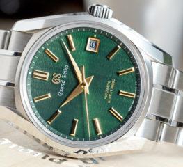 Grand Seiko เปิดตัวนาฬิการุ่นใหม่ของนาฬิกาจับเวลาแรงบันดาลใจจาก Four Seasons ที่น่าประทับใจ