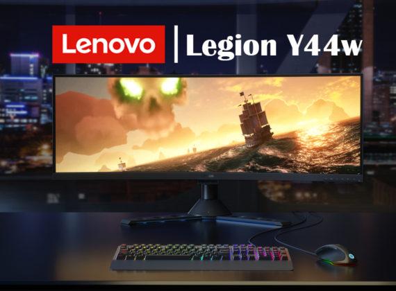 เปิดมุมมองใหม่แห่งการเล่มเกมที่สมจริงกับหน้าจอ Lenovo Legion™ Y44w