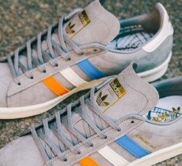 "Sneakersnstuff สร้าง adidas Campus 80s ""22 Little West"" ด้วยแรงบันดาลใจจาก NYC"
