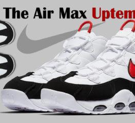 Air Max Uptempo แรงบันดาลใจจากเอ็นบีเอ ที่กลายเป็นที่ชื่นชอบในหมู่นักเล่นบาสเกตบอล