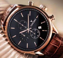 Chrono S Rose Gold ของ Vincero เป็นนาฬิกาคลาสสิกสไตล์โมเดิร์น