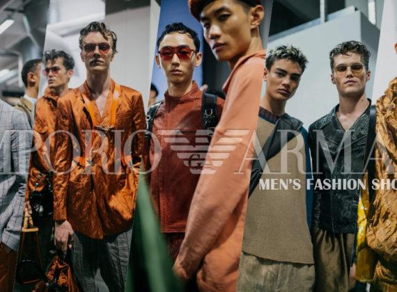 Emporio Armani MEN'S FASHION SHOW | VISIONS & DREAMS SPRING SUMMER 2020