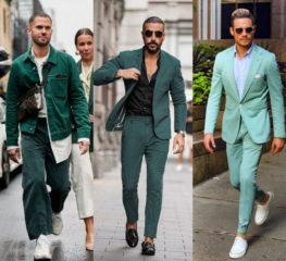 ไอเดียมิกซ์แอนด์แมทช์เสื้อผ้าธีมสีเขียว แต่งยังไงให้หล่อเฟี๊ยว!!