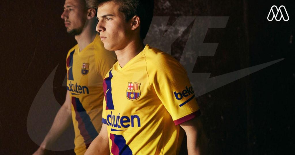 Nike เปิดตัวเสื้อทีมเยือน Barcelona 2019/20
