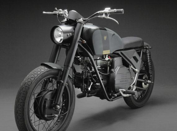 CUSTOM MOTORCYCLES | VX Falcone เป็นจักรยานยนต์คลาสสิกที่สร้างขึ้นเพื่อกองทัพอิตาลี
