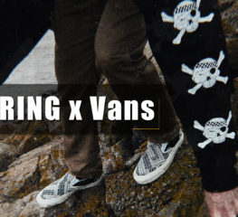 "Offspring x Vans นำเสนอลวดลายโจรสลัดแบบคลาสสิค สำหรับคอลเล็กชั่น ""Herring-Bone"""