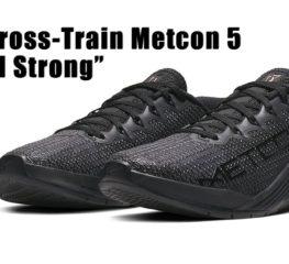 "Nike ให้เกียรติการต่อสู้เพื่อชัยชนะของนักกีฬาด้วย Special Edition Metcon 5 ""Medal Strong"""