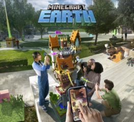 Minecraft Earth เกมสร้างบล็อคบนโลกจริงเตรียมเปิดทดสอบ