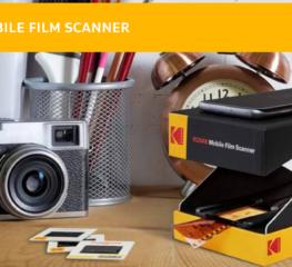 เอาใจสายฟิล์มกับ Kodak's Mobile Film Scanner