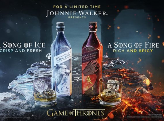 Johnnie Walker ปล่อยวิสกี้ลิมิเต็ด อิดิชั่น จากซีรีย์ Game of Thrones อีกครั้ง แต่คราวนี้มาถึง 2 ตระกูล
