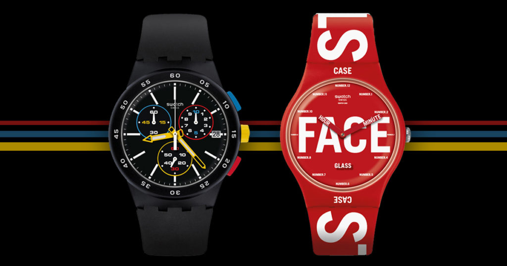 Swatch เฉลิมฉลอง 100 ปีแห่ง Bauhaus ด้วยนาฬิกาเหล่านี้