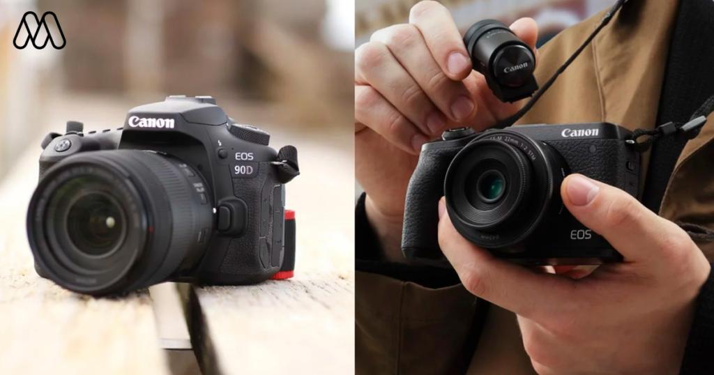 เทียบสเปคกล้อง Canon 90D VS Canon EOSM6 MK II