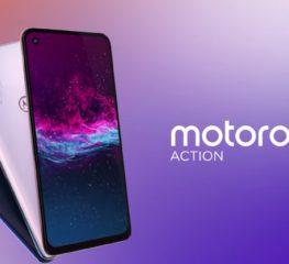 เปิดตัว Motorola One Action ถ่ายวิดีโอได้ไม่ต่างจาก Action Camera