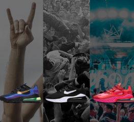 Air Max 270 ของ Nike ส่งมอบคอลเล็คชั่นใหม่ที่ได้รับแรงบันดาลใจมาจากแนวเพลง