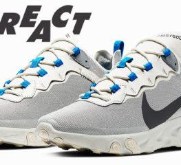 """เผยโฉม Nike React Element 55 ที่ปรากฏใน Colorway """"Light Bone"""""""