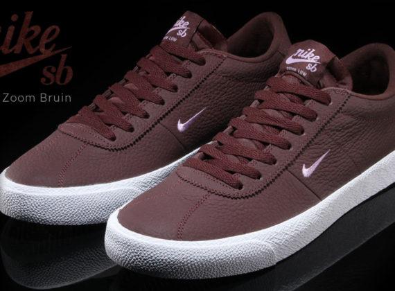 Nike SB Zoom Bruin มาพร้อมความหรูหราด้วยหนังชั้นดี โทนสีมะฮอกกานี
