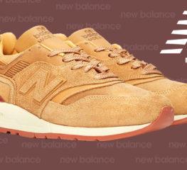 Red Wing นำหนังสุดหรูมาสู่ New Balance M997 Sneaker