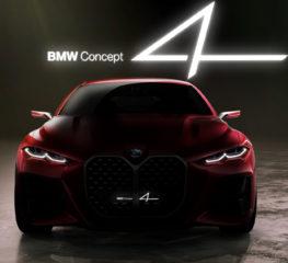 แนวคิดของ BMW Concept 4 เป็นรถสปอร์ตคูเป้ที่โฉบเฉี่ยว