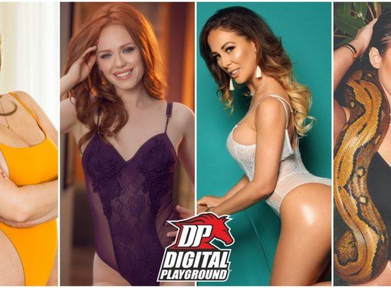 10 ดารา Porno ตัวท๊อปจากค่าย DigitalPlayground