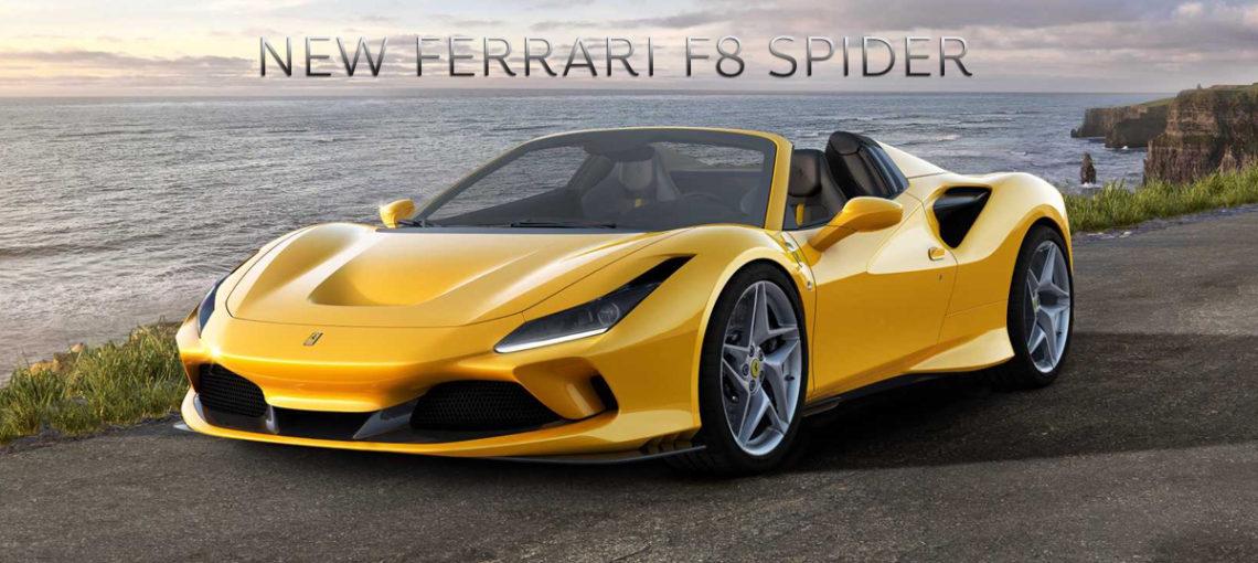 Ferrari เปลี่ยนรถ F8 ให้กลายเป็นรถซุปเปอร์คาร์แปลงสภาพที่ยิ่งใหญ่ที่สุด