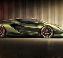 ภาพหลุด Lamborghini Sián ซึ่งเป็น Supercar ไฮบริดคันแรกของ Lamborghini