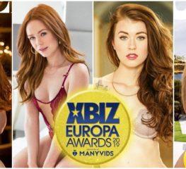 เปิดรายชื่อเข้าชิงรางวัล Female Performer of the Year จากงาน XBIZ EUROPA AWARDS 2019