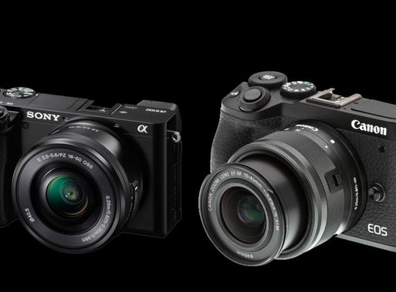 เทียบสเปคกล้อง SONY A6100  VS CANON EOSM6 MK II
