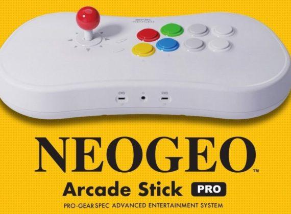 จอย NEOGEO Arcade Stick Pro จะมีเกมติดตั้งมาให้ในตัว