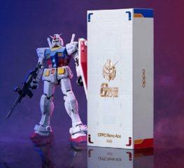 Oppo เปิดตัว Reno Ace รุ่นฉลอง 40 ปี Gundam
