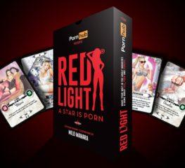 มุ่งตรงสู่อุตสาหกรรมหนังผู้ใหญ่กับการ์ดเกม RED LIGHT A STAR IS PORN! present by Pornhub