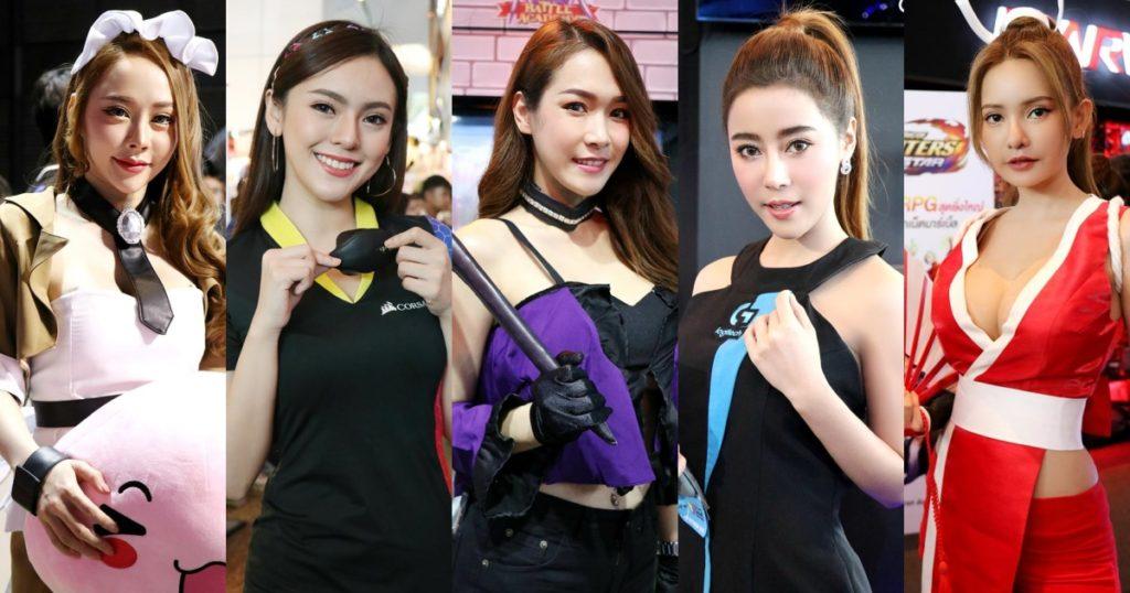 Hot Girls   รวมภาพพริตตี้สาวสวยท่ามกลางบรรยากาศงาน THAILAND GAME SHOW 2019