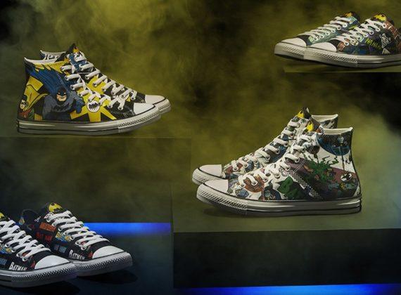 Converse ร่วมฉลองครบรอบ 80 ปี แบทแมน ด้วยรองเท้ารุ่นพิเศษ