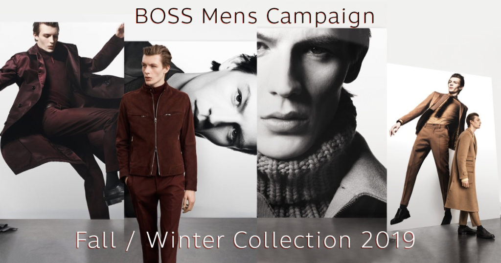 NEW FASHION UPDATE : Boss Fall/Winter COLLECTION 2019