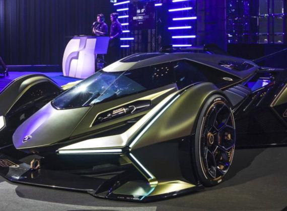 เปิดตัว Lamborghini Lambo V12 Vision Gran Turismo รถต้นแบบสำหรับเกม Gran Turismo Sport
