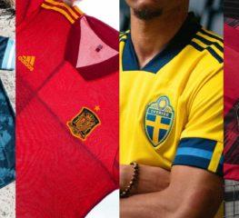 อาดิดาสเผยเสื้อทีมของแต่ละประเทศ ในศึกฟุตบอลยูโร 2020