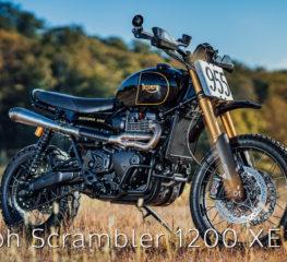 CUSTOM MOTORCYCLES |  Triumph Scrambler 1200 XE และ XC