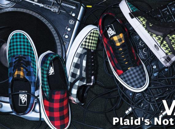 """Vans """"Plaid Is Not Dead"""" เผยคอลเลคชั่นใหม่ พร้อมสีสันและลวดลายที่หลากหลาย"""