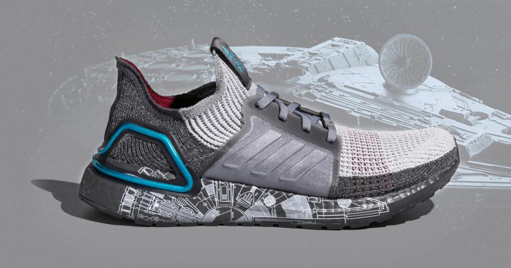 The Star Wars x adidas Ultra Boost 2019 ฉลองฮันส์โซโลและมิลเลนเนียมฟอลคอน