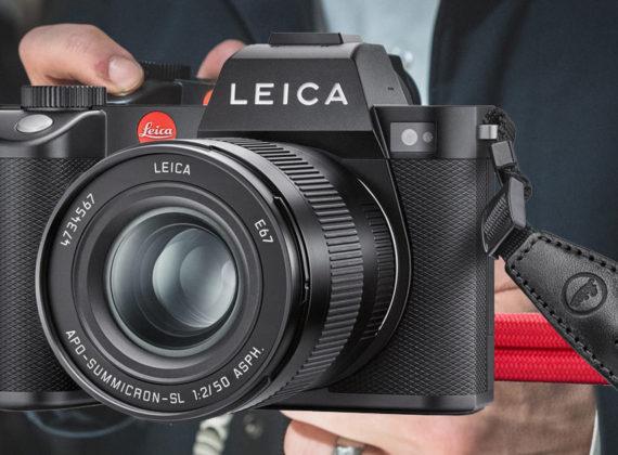 THE NEW LEICA SL2. เพิ่มการป้องกันภาพสั่นไหวให้กับกล้องมิเรอร์เลสฟูลเฟรม 5K