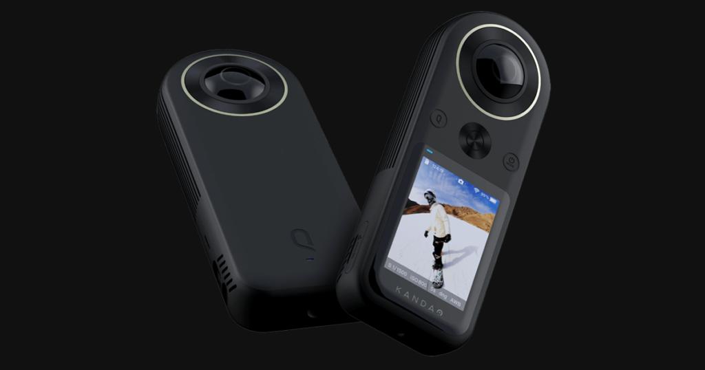 QooCam กล้องวิดีโอ 360 องศา คุณภาพ 8K