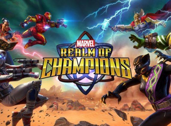 MARVEL: Realm of Champions เผยตัวอย่างแนะนำทีม Patriot Garrison