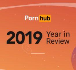 PORNHUB YEAR REVIEW 2019 ประเทศไทยครองอันดับ 1 ในการใช้เวลาชมคลิปนานที่สุด