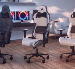 CORSAIR เปิดตัวเก้าอี้เกมมิ่งใหม่ T3 RUSH