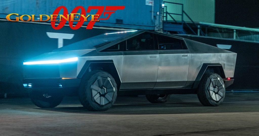 สุดฮา! ชาว Mod จับรถกระบะของ Elon Musk เข้าไปในเกม GoldenEye 007