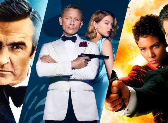 """7 อันดับภาพยนต์ """"James Bond"""" ที่ดีที่สุด"""