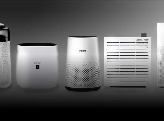 9 เครื่องฟอกอากาศกัน PM2.5 ยอดนิยมภายในบ้าน