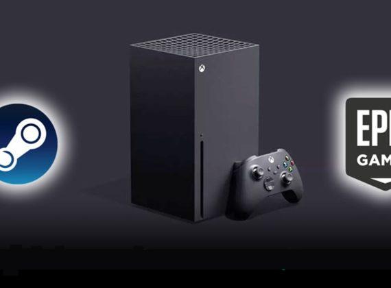 Xbox Series X อาจรองรับการเล่นเกมจาก Steam และ Epic Games Store