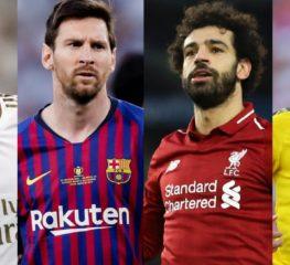 10 นักฟุตบอลตัวรุกที่ดีที่สุดในโลกยุคปัจจุบัน